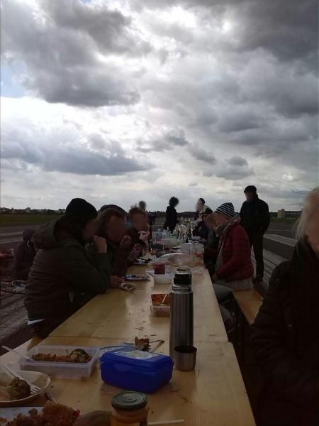 Vegane Landung veganes Picknik in Tempelhof